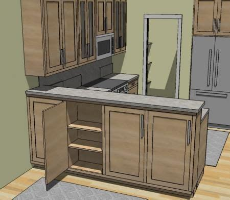 Kitchen Breakfast Bar Storage by Hi Bar Becomes Buffet Storage Shelves For Dining Room