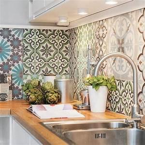 cuisine carreaux de ciment kitchen cuisine a interior design With cuisine carreaux de ciment