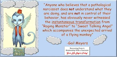 narcissist flying monkeys recovering  narcissistic