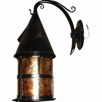 Tudor Porch Iron Fixtures Mica Pair Shops