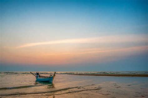 free picture water sand sea boat sun