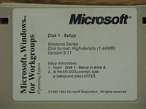Floppy Image Of Dos 6.22 With A Cd Driver