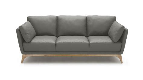 canap 233 3 places mysen cuir mobilier moss