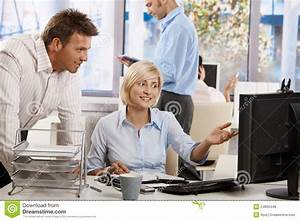 Business People Working In Office Royalty Free Stock ...