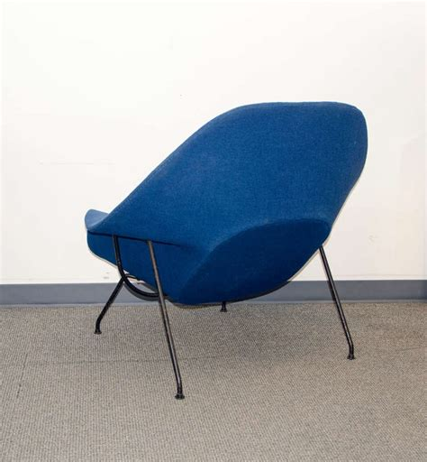 vintage womb chair and ottoman eero saarinen for knoll at