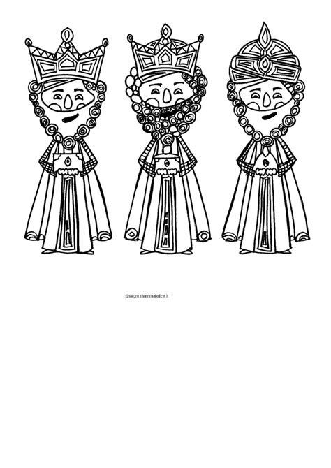 disegni re da colorare disegni da colorare i re magi disegni mammafelice