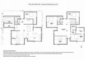 Plan De Maison D Architecte : plan d 39 architecte de maison moderne gratuit ~ Melissatoandfro.com Idées de Décoration