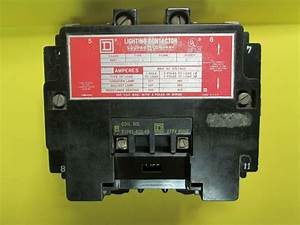 Square D 100 Amp 4 Pole 600v  Class 8903 Type S00 3