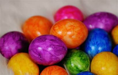 Easter Eggs Colorful Egg Colored Happy Boiled
