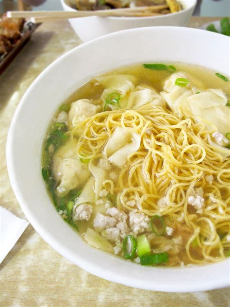 egg noodle soup spotted egg noodle soup at grand bo ky pickled plum food and drinks