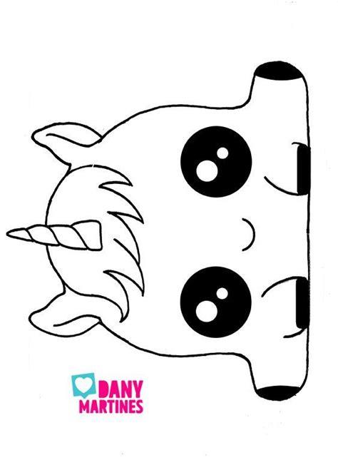 resultado de imagen  dibujos de unicornios kawaii
