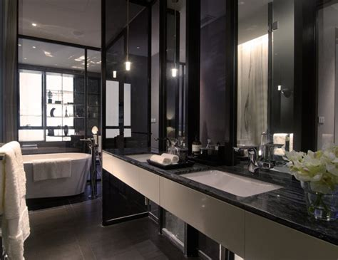 black bathrooms ideas black white bathroom interior design ideas