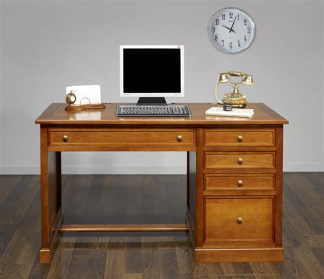 bureau style louis philippe bureau 5 tiroirs jeanne en merisier de style louis