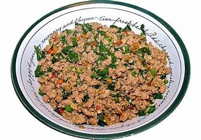 Chicken Rice Fried Clipart Grain Thai Transparent
