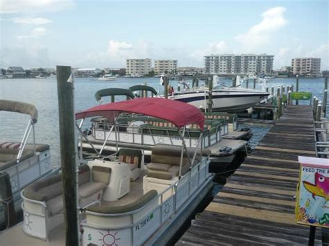Used Pontoon Boats Destin Fl by Pontoon Boats Picture Of Water Sports Destin