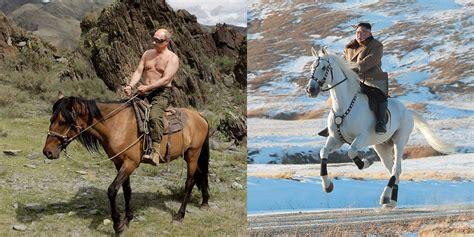 kim jong horse un riding meme korea north