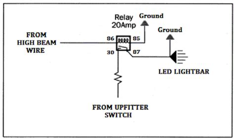 Led Lights Into High Beam Switch Wiring Diagram Help