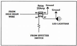 Led Lights Into High Beam Switch Wiring Diagram