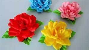 Blumen Aus Servietten Basteln : rosen aus notizzetteln diy blumen basteln aus papier ~ A.2002-acura-tl-radio.info Haus und Dekorationen