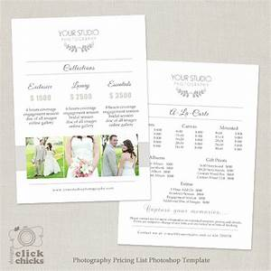 wedding photography pricing list template 31 With wedding photography packages template
