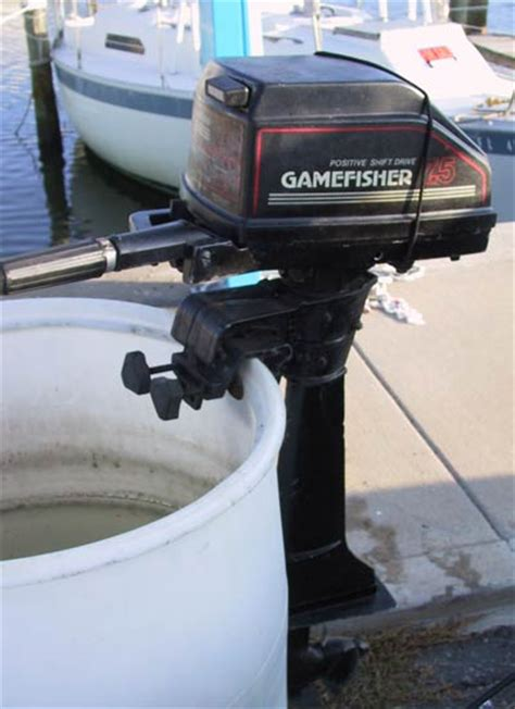 Boat Motors At Sears by Used Sears Gamefisher 7 1 2 Hp Outboard Boat Motor