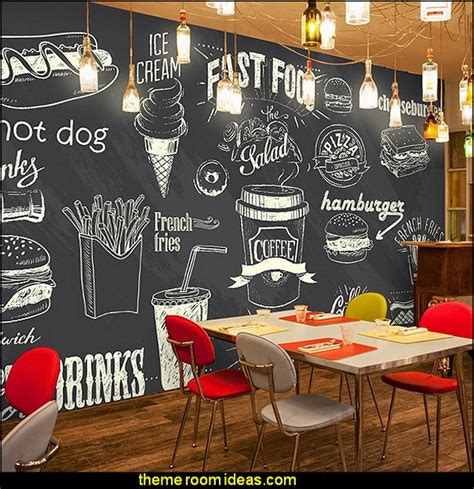 kitchen wall mural ideas blackboard wallpaper murals food wallpaper murals bistro kitchen cafe kitchen wall murals home