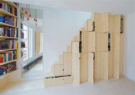 escalier cube pour mezzanine escalier rangement mezzanine 4 astuces recopier pour gagner de la place dans votre studio hd