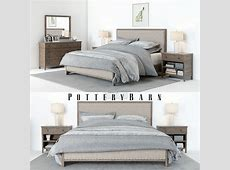 Pottery Barn Toulouse Bedroom set & Accessoires