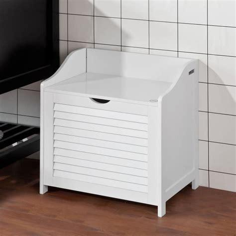 coffre a linge en bois merveilleux coffre banc salle de bain 12 panier a linge sobuy 174 fsr40 w banc de rangement