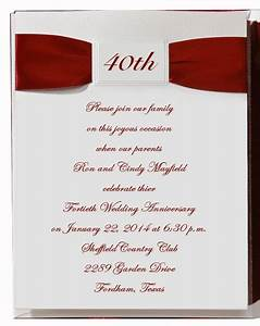 40th wedding anniversary napkins 40th20wedding With free printable 40th wedding anniversary invitations