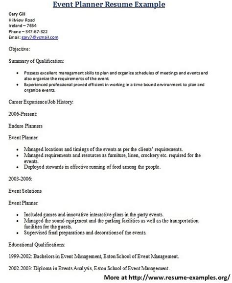 for more and various hospitality resume formats visit www
