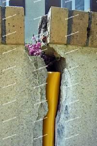 Reboucher Grosse Fissure Mur Exterieur : colmater une fissure dans un mur ext rieur construction maison b ton arm ~ Louise-bijoux.com Idées de Décoration