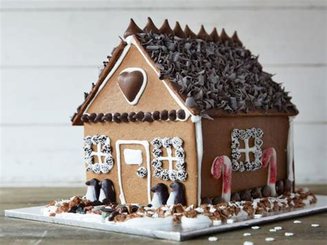 chocolate gingerbread house recipe food network kitchen