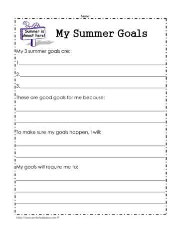 All Worksheets » Last Day Of School Worksheets  Printable Worksheets Guide For Children And Parents