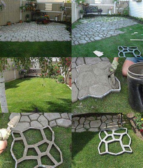 easy way to make a patio crafty finds for your inspiration no 5 walkways concrete path and diy and crafts