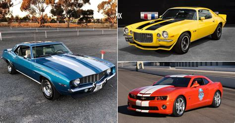 15 Stunning Pictures of Chevrolet Camaro Special Editions ...
