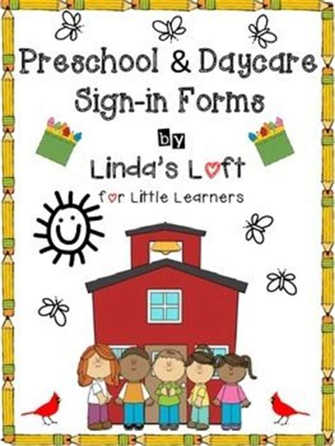 preschool amp daycare sign in forms at the top daycare 808   449d80949b94375224d908111244b3a5