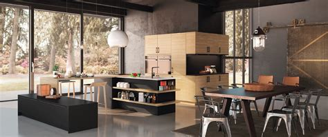 cuisine noir bois beautiful cuisine noir bois inox ideas seiunkel us