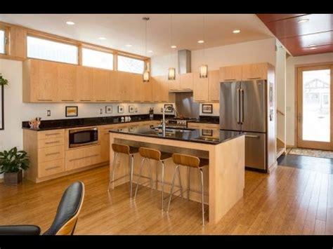 modern wooden kitchen youtube