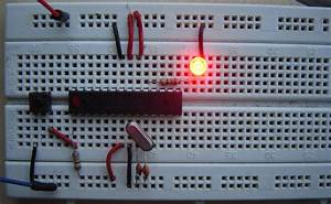 Blinker Using Arduino And Ne555 Timer Ic