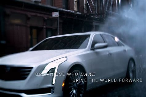Cadillac Commercials by Cadillac Ct6 Flagship Sedan Revealed In New Commercial