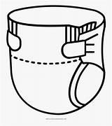 Diaper Pannolino Colorare Coloring Da Clipartkey sketch template
