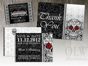 58 best weddings images on pinterest sugar skull sugar With free printable skull wedding invitations