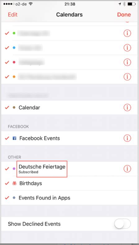 ios   remove automatically subscribed calendar