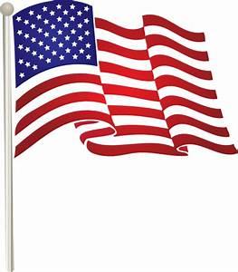 United States Waving Flag Clip Art at Clker.com - vector ...