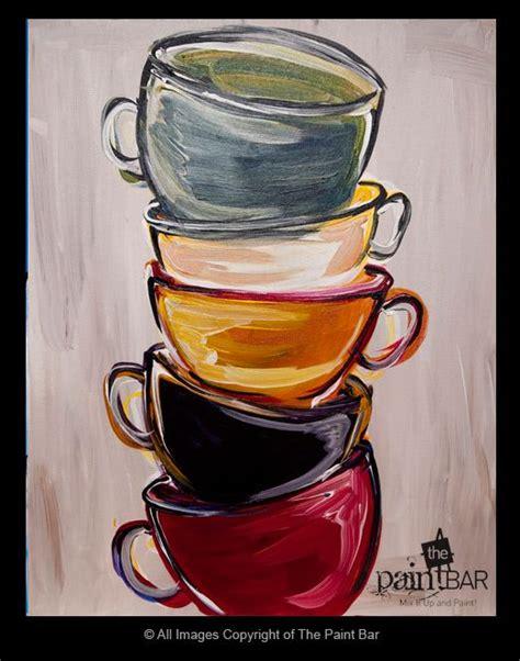 Coffee and cupcake original acrylic painting with bible verse. @Aimee Watkins DeeDee is putting coffee cup decor in her ...
