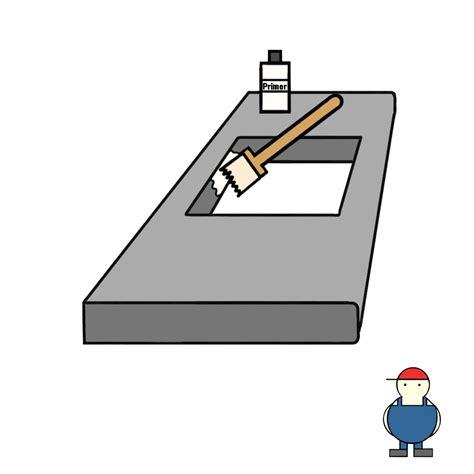 Arbeitsplatte Küche Versiegeln by K 252 Chen Arbeitsplatte Ausschnitt Und Versiegeln Kuechenkonsum