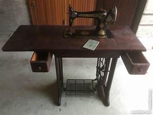 Ancienne Machine A Coudre : ancienne machine a coudre singer fabrication anglaise clasf ~ Melissatoandfro.com Idées de Décoration
