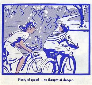 A Vintage Illustrated Guide From 1969  On Safe Bicycle
