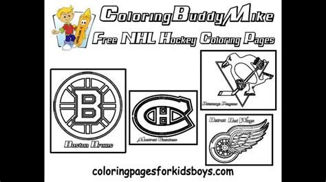 nhl coloring pages nhl symbols coloring pages coloring home